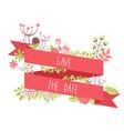Elegant floral decorative elements vector image vector image