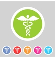 health medicine pharmacy icon badge flat symbol vector image