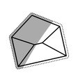 isolated email or Mail symbol vector image vector image