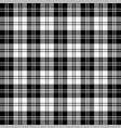 tartan plaid pattern scottish cage vector image vector image
