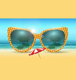 vacation summer concept vector image vector image