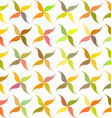 Autumn abstract leaf pattern background design vector image
