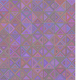 Abstract striped triangle mosaic background design vector image vector image