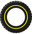 car tire concept vector image