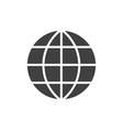 global black icon vector image vector image