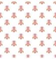 Male sexual organ pattern cartoon style vector image vector image