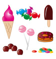 Sweet Food vector image vector image