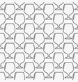 wine or cognac glass minimal pattern vector image vector image