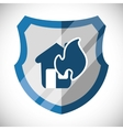 Insurance and security business vector image vector image