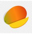 mango fruit isometric icon vector image vector image