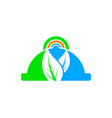 online food logo designs vector image