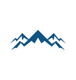 rocky mountain expedition logo vector image vector image