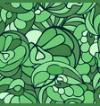 seamless art pattern green color vector image vector image
