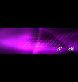shiny glowing lights neon color design background vector image