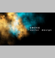 smoke background abstract design vector image vector image