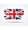 Typography Internet Logo british shop vector image vector image