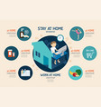 virus corona covid19 19 infographic infographic vector image