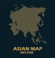 asian map vector image