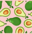 Avocado print seamless pattern for textiles