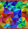 bright abstract seamless pattern of triangles vector image