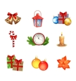 Christmas Icons Collection vector image
