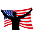 Flag Bearer vector image vector image
