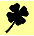 Leaf clover sign vector image vector image