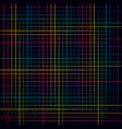 multicolored lines colorful grids background vector image vector image