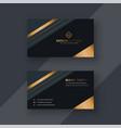 Premium business card design background