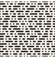 Seamless Morse Code Dashed Horizontal Lines vector image