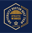 university boston best vector image