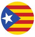 flag of catalonia catalonian flag autonomous vector image