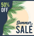 happy summer sale background layout for banners vector image vector image