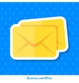Icon of envelopes vector image vector image