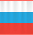 russian flag icon vector image vector image