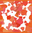 seamless random heart background pattern - design vector image vector image