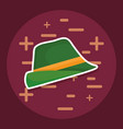 Traditional german hat icon