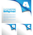 Abc paper fold vector | Price: 1 Credit (USD $1)