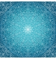 blue lace background vector image vector image