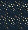 diagonal lines seamless pattern vector image