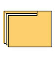 file folder documents icon vector image