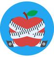 fruit diet vector image vector image