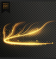 Glowing golden transparent light effect background