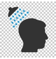 Head Shower Icon vector image vector image