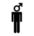 man design vector image