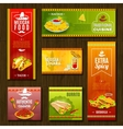 Mexican Food Banner Set vector image vector image