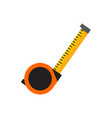 simple tape measure tool graphic vector image