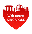 SingaporeW vector image