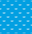 small wave pattern seamless blue vector image