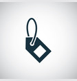 tag icon simple flat element design concept vector image